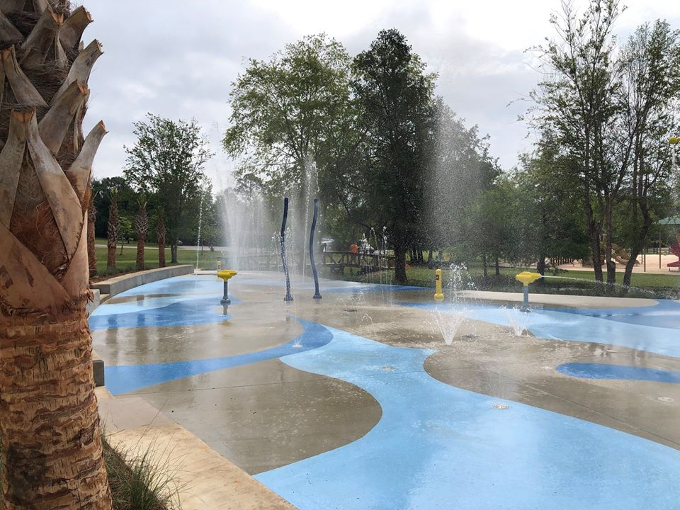 Splash Pad at Carpenter's Park