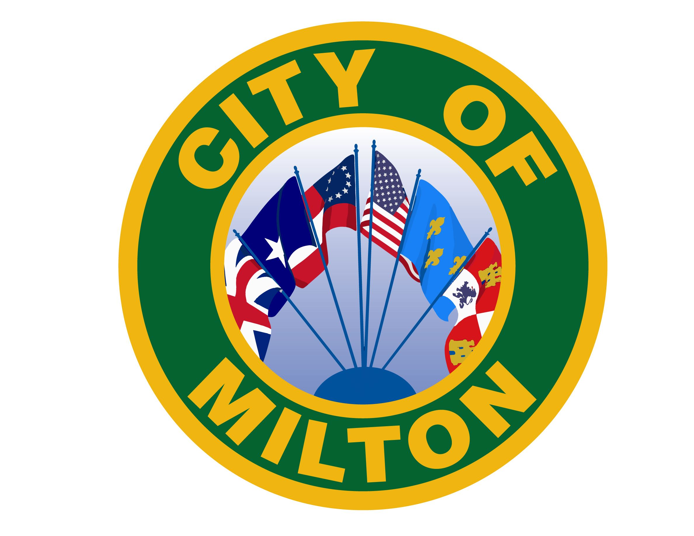 New City of Milton Offical Seal