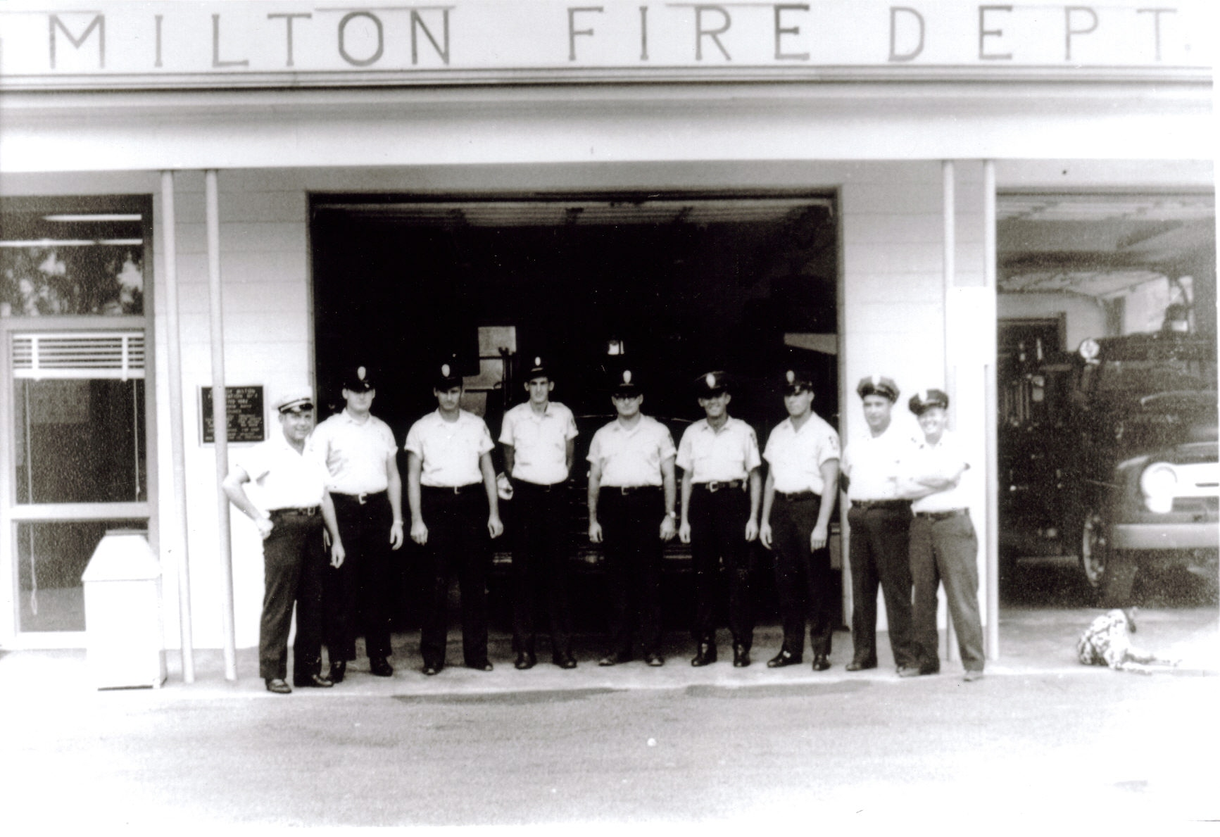 Fire Station 1960s