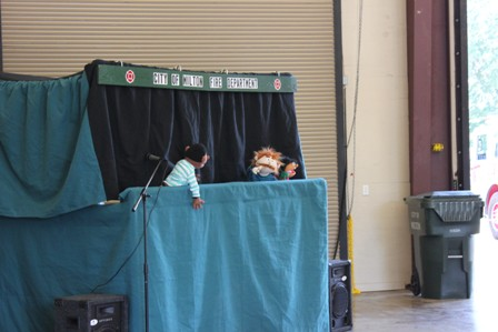 Fire Open House puppet show