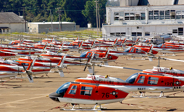 Whiting Field helicopters